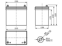AGM12C-0055 Abmessungen