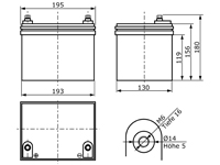 AGM12C-0035 Maßzeichnung