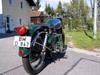 Umbau einer Enfield auf Basis sdes Rotek 400 ccm Einzylinder Dieselmotors