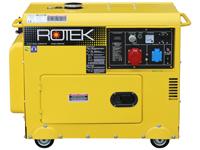 ROTEK GD4SS-3-6000-EBWZ, Frontansicht