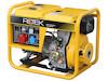 Dieselgenerator 6,0 kW, 230/400 Volt, 3-Phasig, 4-Takt Dieselmotor, Elektrostart, elektronisch geregelte Ausgangsspannung, Betriebsstundenzähler