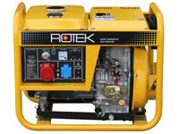 ROTEK GD4-3-6000-EBZ, Frontansicht