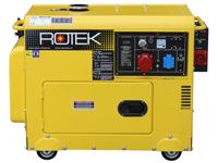 ROTEK GD4SS-3-6000-EBWZ-ATS, Frontansicht
