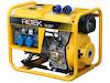 Dieselgenerator 6,0 kW, 230 Volt, 1-Phasig, 4-Takt Dieselmotor, Elektrostart, elektronisch geregelte Ausgangsspannung, Betriebsstundenzähler