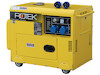Dieselgenerator 6,0 kW, 230 Volt, 1-Phasig, 4-Takt Dieselmotor, Elektrostart, SuperSilent, elektronisch geregelte Ausgangsspannung