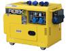 Dieselgenerator 6,0 kW, 230 Volt, 1-Phasig, 4-Takt Dieselmotor, Elektrostart, SuperSilent, elektronisch geregelte Ausgangsspannung, Notstromautomatik (ATS Auto Transfer Switch)