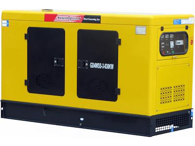 generator notstrom 30kw 4zyl diesel supersilent neu ebay. Black Bedroom Furniture Sets. Home Design Ideas