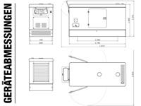 Rotek GD4WSS-3-012kW-YD480-BL - Abmessungen