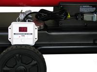 Thermostatsteuereinheit HO-T230A, Ansicht montiert