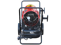 Rotek Heizkanone Öl-Direktheizer 30 kW 230V mit Vollautomatik Thermostat, HO-30-230-TI