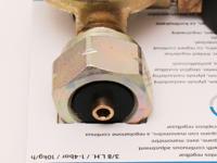 Gasregler, stufenlos regulierbar, mit Manometer 1-4Bar bis 10kh/h / Flaschengewinde W21,8x1/4