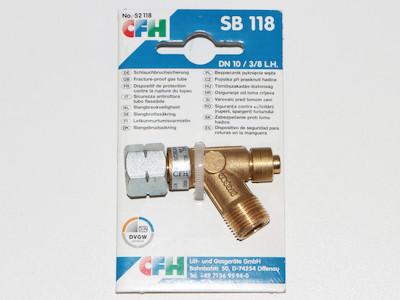 CFH SB118 Schlauchbruchsicherung