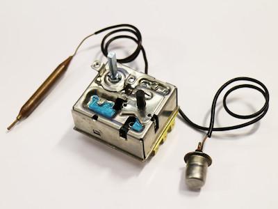 Thermostat, 3-phasig, 16A, ca. 0-40°C / 70° , passend zu etwa 5kW Heizlüftern