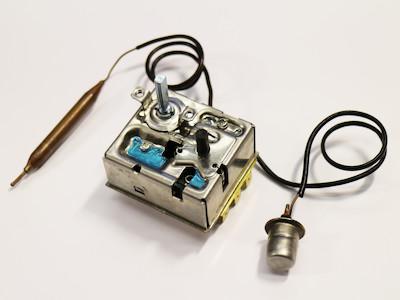 Thermostat, 3-phasig, 16A, ca. 0-40°C / 90° , passend zu etwa 9kW Heizlüftern