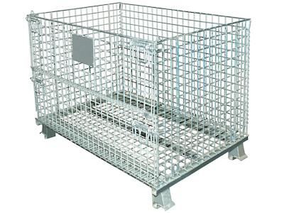 Palettencontainer 800 x 600 x 640 mm, SB-A-0800