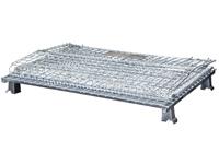 Palettencontainer 800 x 600 x 640 mm, SB-A-0800, zusammengeklappt