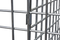 Trennwand für 1200x800 mm Palettencontainer, SB-A-ZBT-1200, Detail