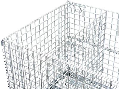 Trennwand für 2000x1200 mm Palettencontainer, SB-A-ZBT-2000