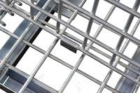 Trennwand für 2000x1200 mm Palettencontainer, SB-A-ZBT-2000, Detail