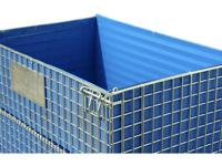 Wandtafel für 1200 x 800 mm Palettencontainer, SB-A-ZBW-1200, Detail