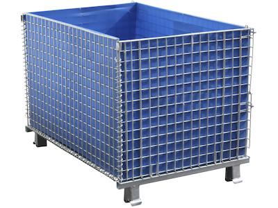 Wandtafel für 2000 x 1200 mm Palettencontainer, SB-A-ZBW-2000