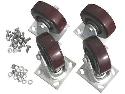 Rollensatz für Palettencontainer der SB-A-Serie,  SB-A-ZBR