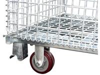 Rollensatz für Palettencontainer der SB-A-Serie,  SB-A-ZBR, montiert
