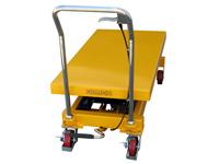 Hubtisch mit 800 kg Kapazität und 1500 mm Tischhöhe, SHTM-A-0800-445-1500-PU, Hinten