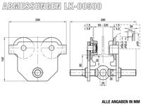 LK-00500 - Abmessungen