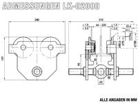 LK-02000 - Abmessungen