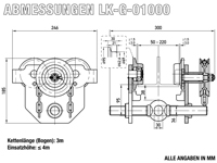 LK-G-01000 - Abmessungen