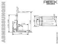 STP-SE-B-1500-2.5 - Abmessungen