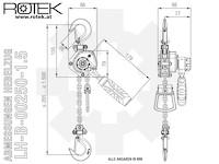 LH-B-0250 Abmessungen