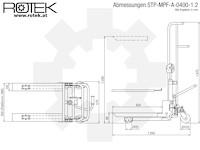 STP-MPF-A-0400-1.2 Abmessungen