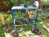 Eigenbau Holzspalter mit Rotek 200ccm Benzinmotor