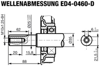 ED4-0460 - Wellendetail