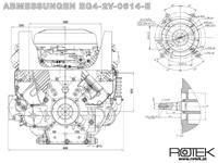 EG4-2V-0614-E Abmessungen