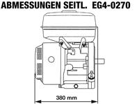 Rotek EG4-0270 - Seitliche Abmessungen