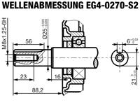 Rotek EG4-0270 - Wellenabmessung