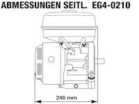 EG4-0210-5H Seitliche Abmessungen