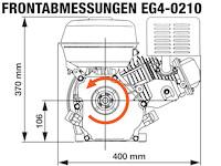 EG4-0210-5H Frontabmessungen
