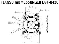 EG4-0420-5 Flanschabmessungen