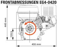 EG4-0420-5 Frontabmessungen