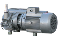 Vakuumpumpe mit 0,9 kW Leistung, PM-VP-20, Rückseite