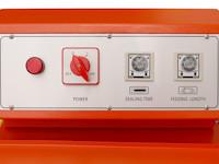 Semiautomatisches Winkelschweissgerät mit Förderband, PM-FSW-5545F, Panel Detail