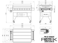 PM-ST-BS6550 Abmessungen