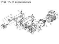 PM-VPV-20-230 Explosionszeichnung