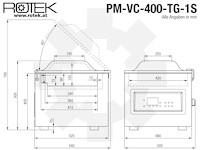 PM-VC-400-T-1S Abmessungen