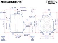 SPP6 - Abmessungen