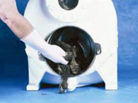 SPP6 - Einfache, werkzeuglose Reinigung des Pumpenkörpers